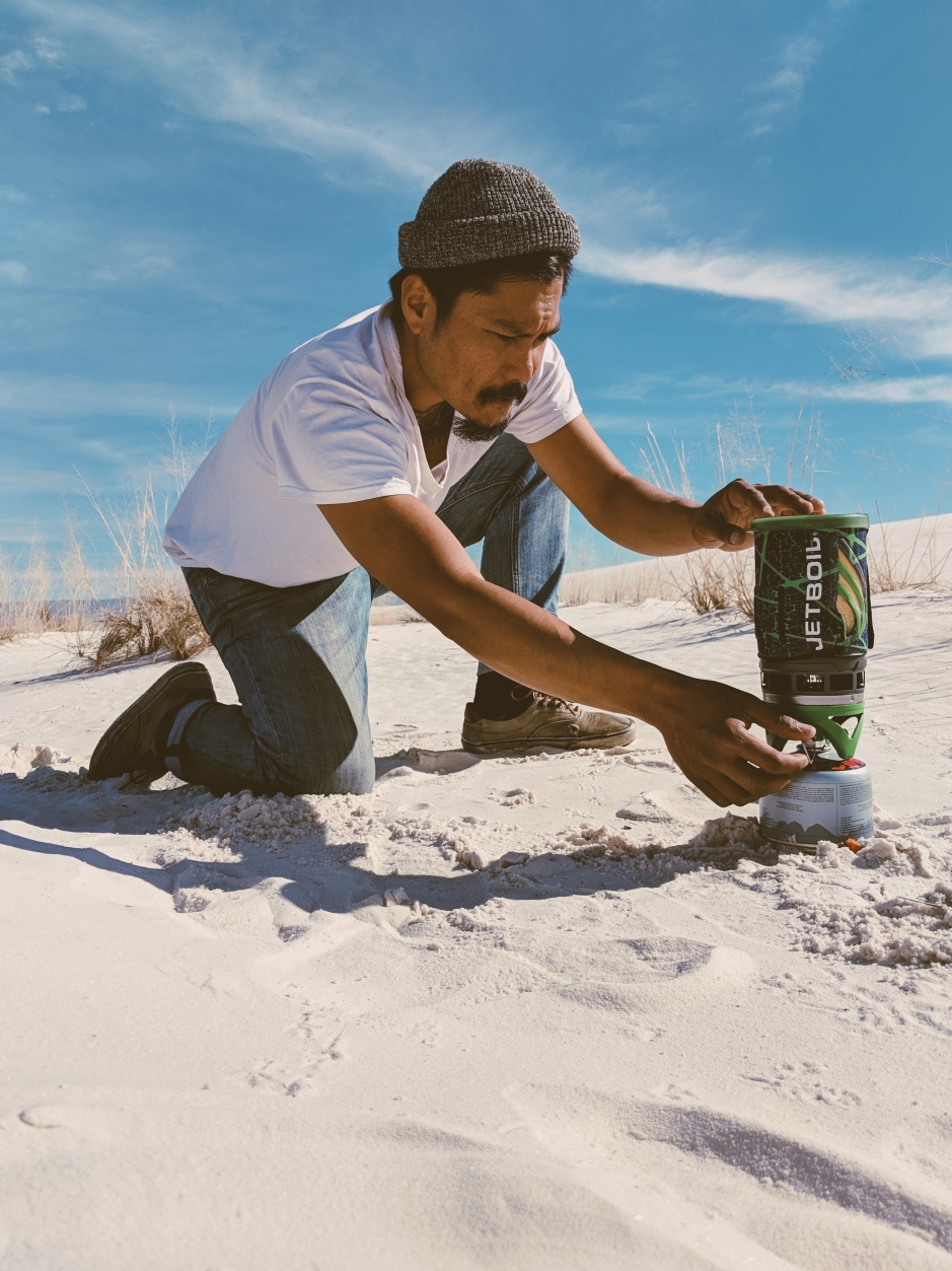 Cooking White Sands