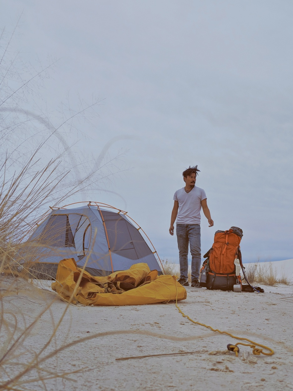 Camped White Sands