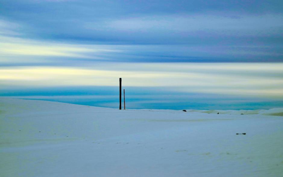 Empty White Sands