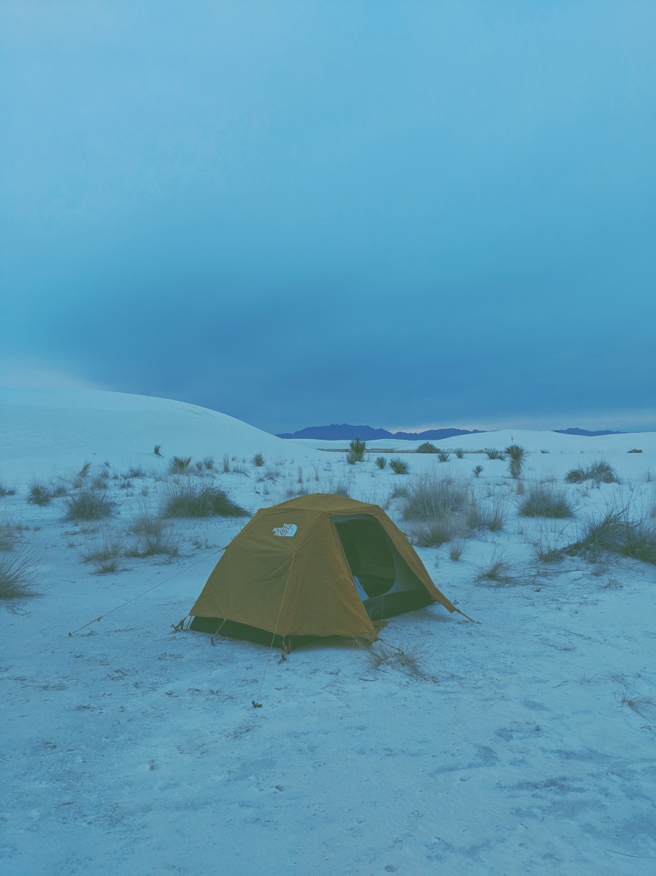 Blue Camp White Sands